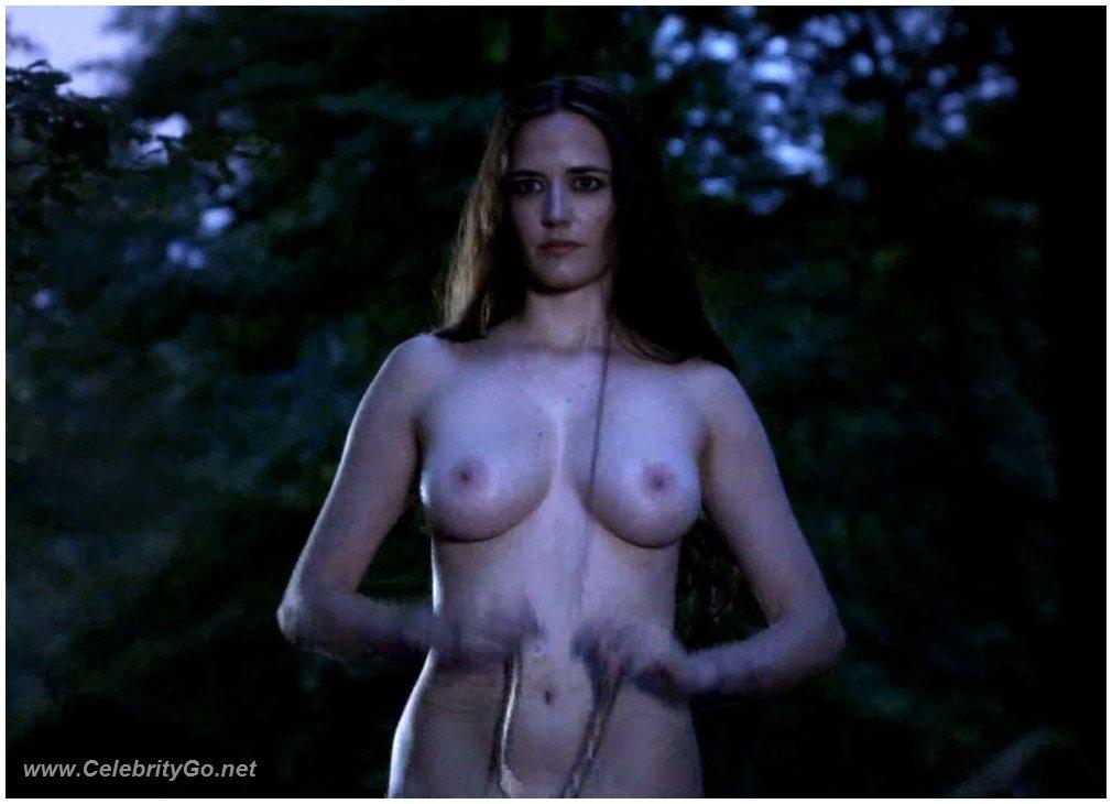 sexy green woman nude