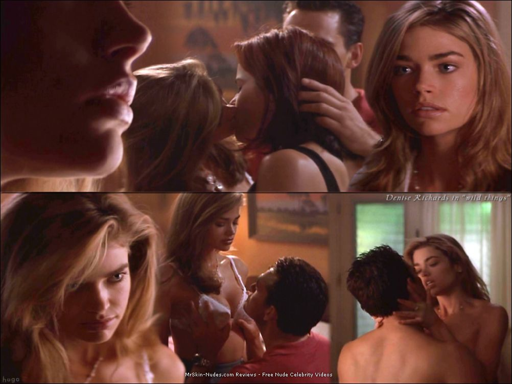 Denise richards and neve campbell wild things 1998 2